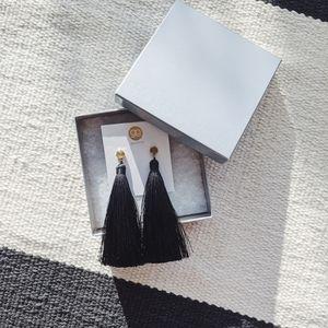 Gorjana tassle earrings
